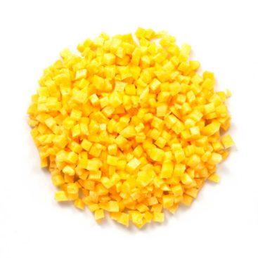 Karotten Gelb 5 x 5 mm