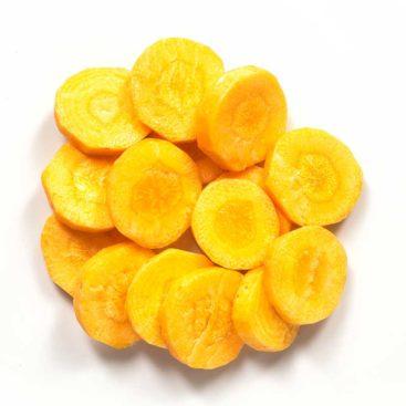 Karotten Gelb Scheiben 8mm
