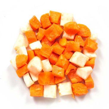 Karotten Sellerie Mischung 15x15 mm