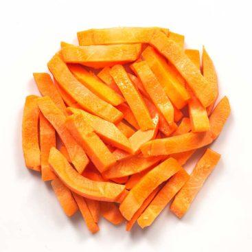 Karotten Streifen 8mm