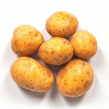 Mini-kartoffel ganz