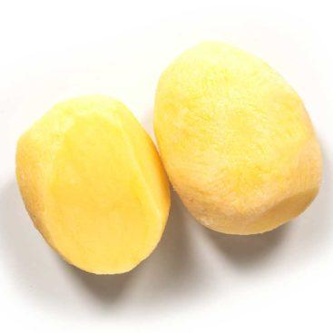 Schälkartoffeln ganz